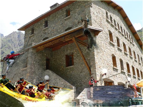 Refuge hôtel du Gioberney - vallée du Valgaudemar