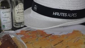 Décoration avec chapeaux des Hautes Alpes